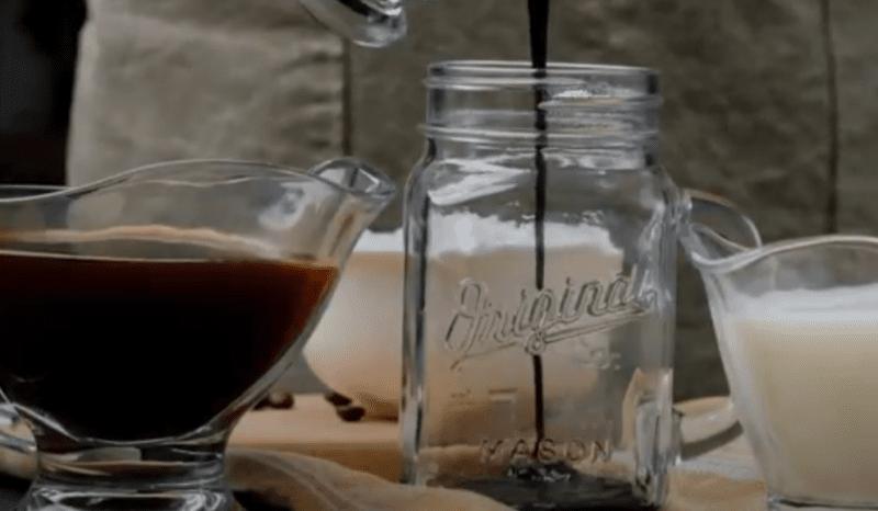 easy iced mocha syrup