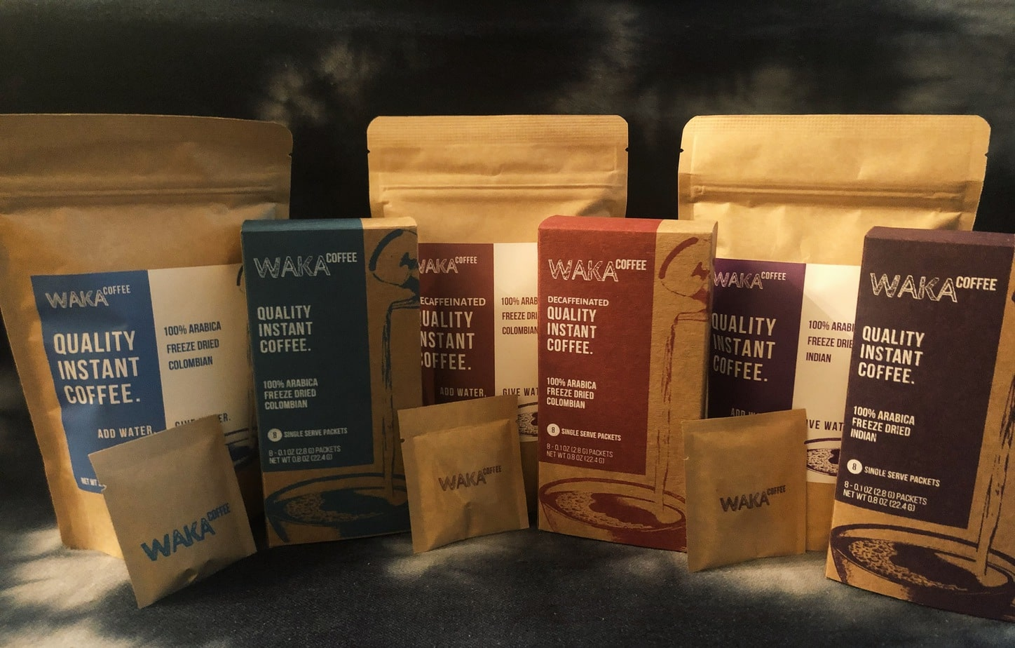 Waka Coffee review products
