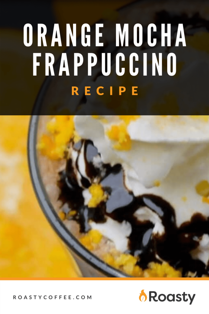 Orange Mocha Frappuccino Recipe