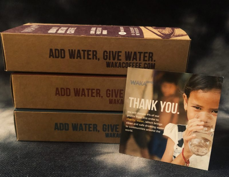 Waka Coffee project:water