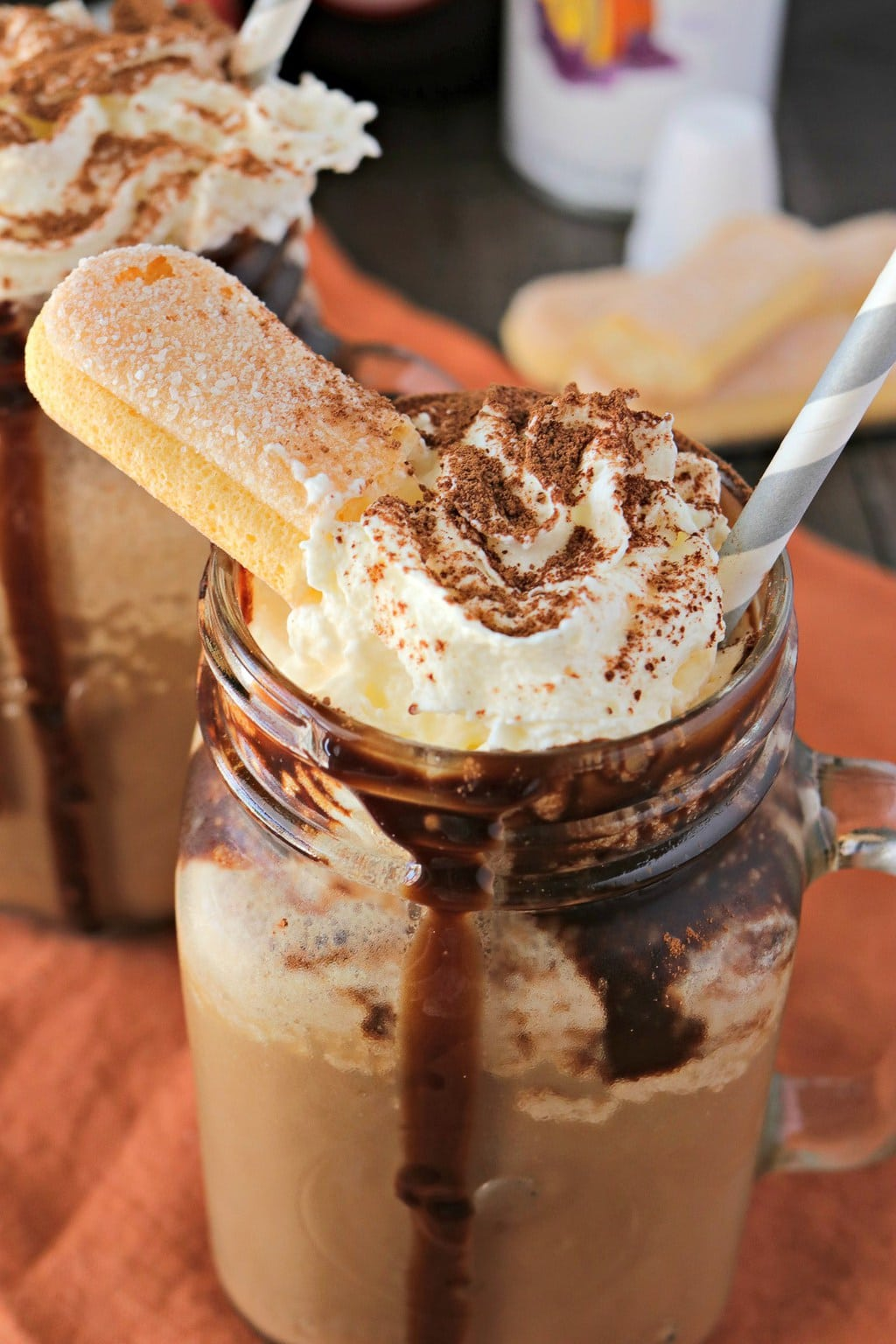 Tiramisu Frozen Blended Coffee