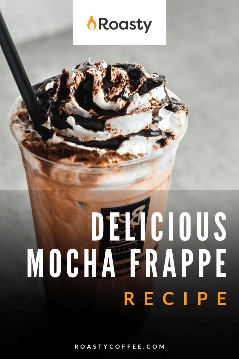 Homemade Mocha Frappe Recipe