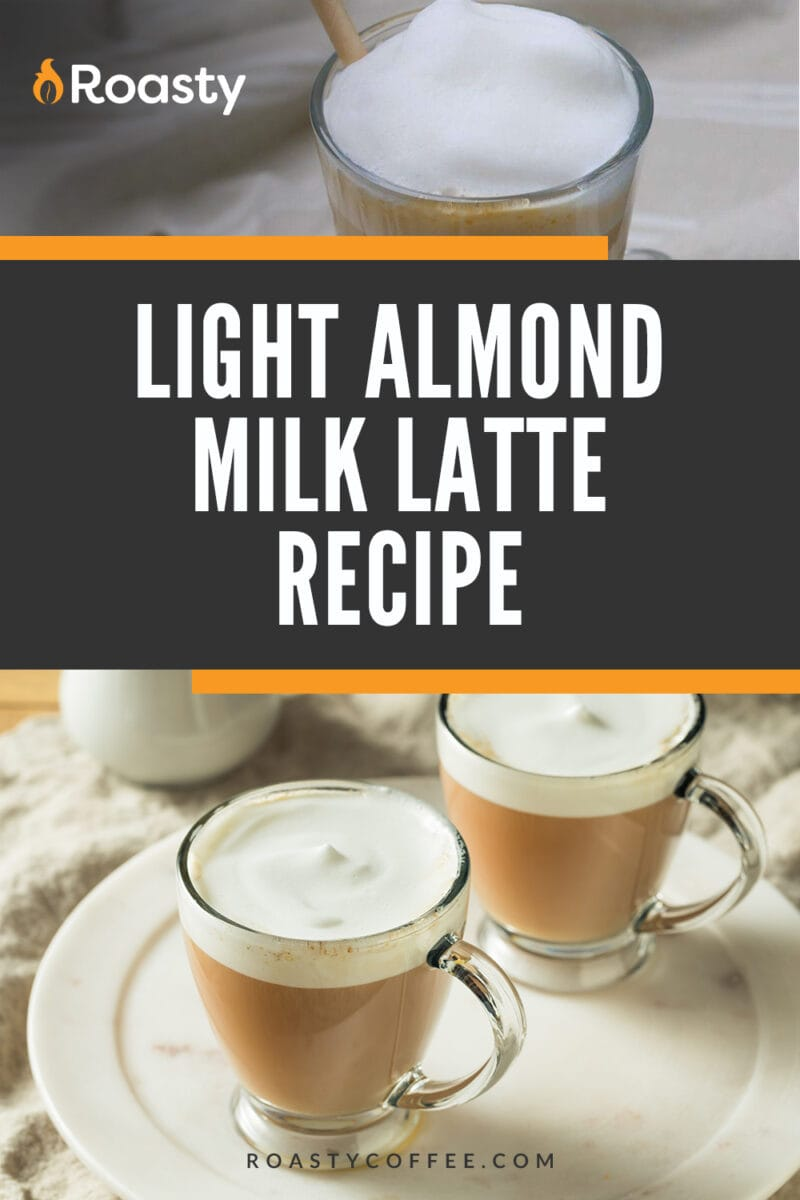Light Almond Milk Latte Recipe