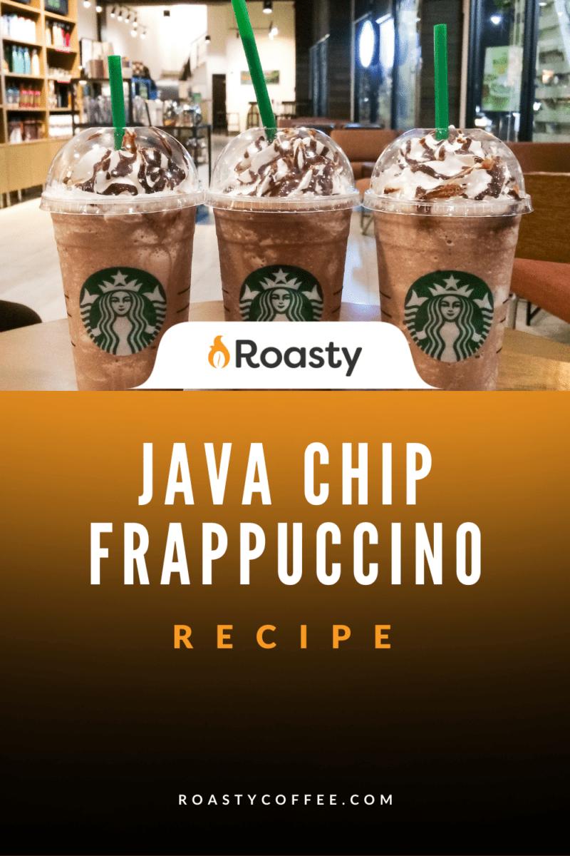 Easy Java Chip Frappuccino - Starbucks Copycat