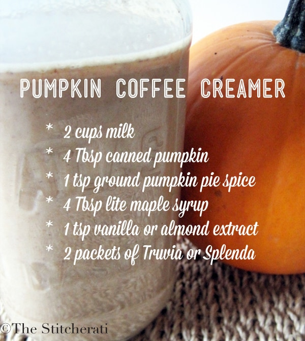Pumpkin Flavored Coffee Creamer