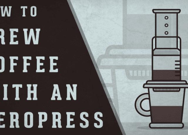 How to Brew Coffee with an Aeropress