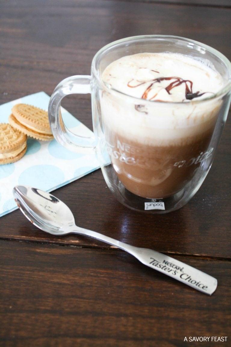 Almond Milk Mocha Instant Coffee