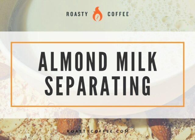 Almond Milk Separating