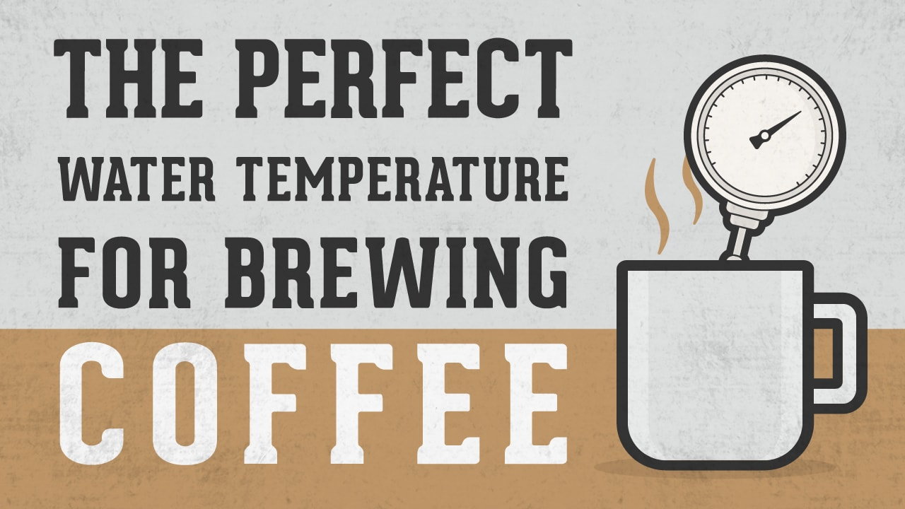 How to make the perfect cup of coffee brewing temperature