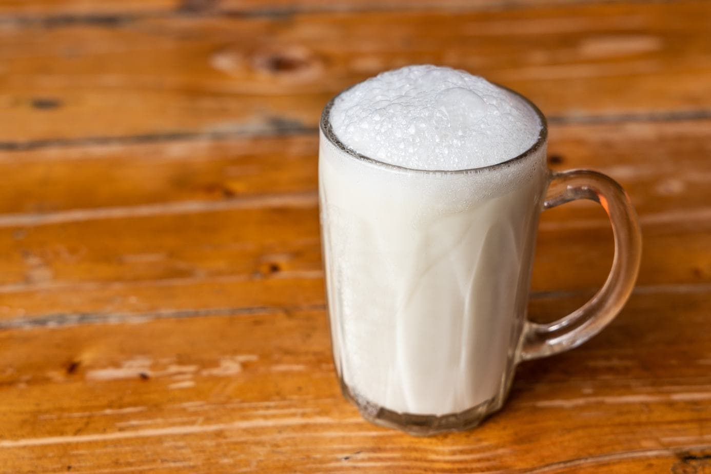 Bubbling Almond Milk