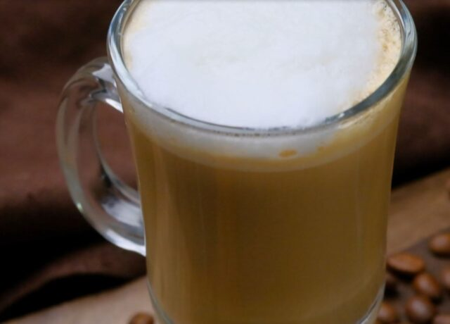Butterscotch latte recipe