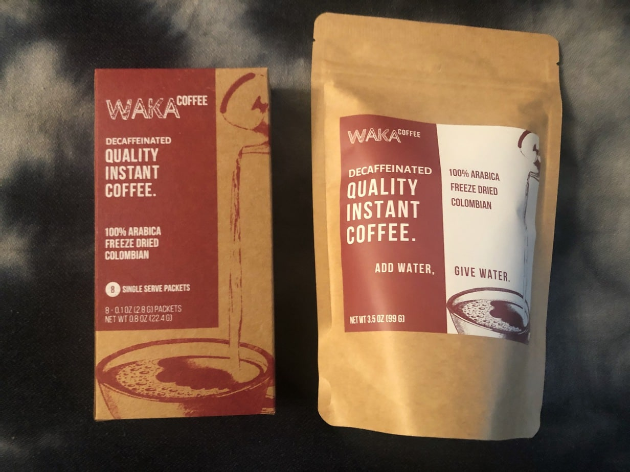 Waka Coffee review decaf
