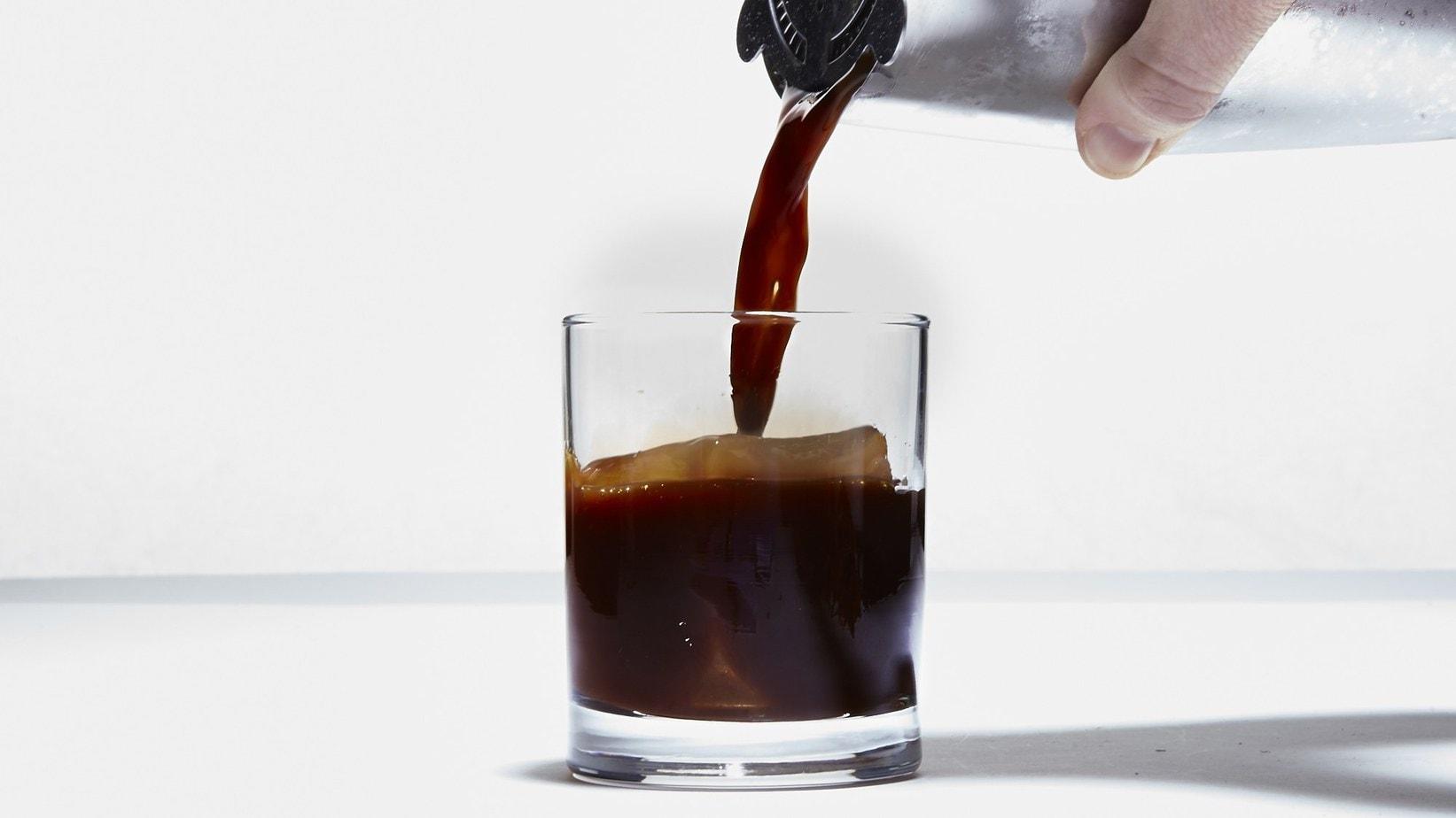 Old Fashioned Espresso Boozy Drink
