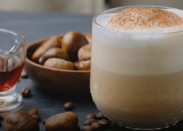 Chestnut Praline Latte Recipe