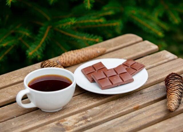 Chocolate In Coffee