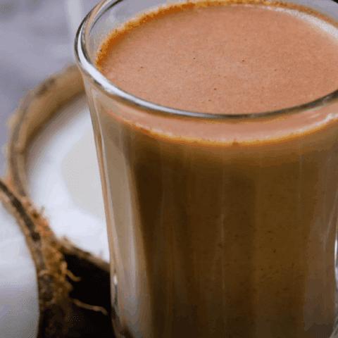 Cinnamon Coconut Latte Recipe