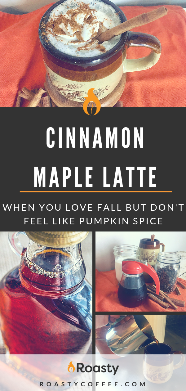 Cinnamon Fall Latte Pinterest Image
