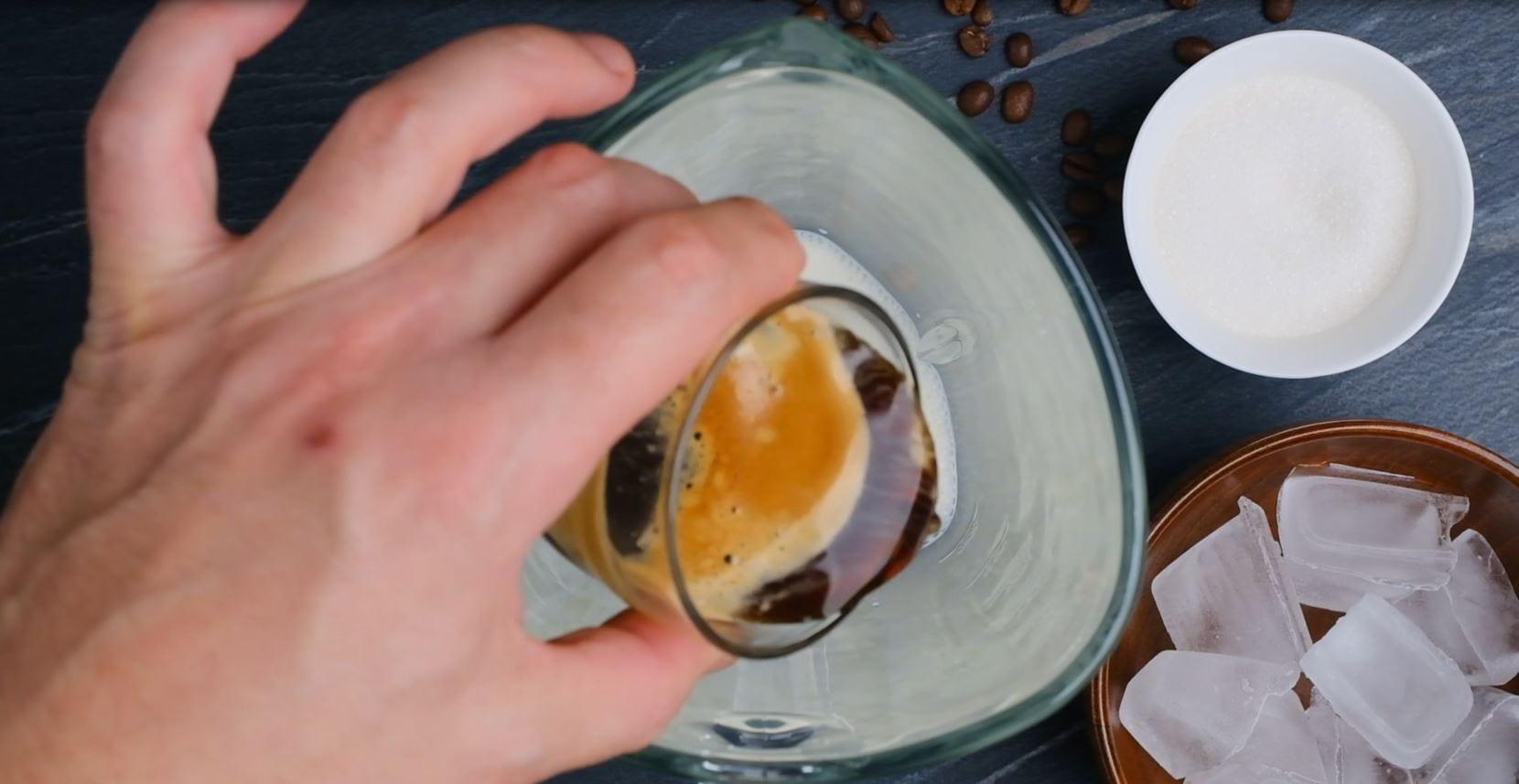 Coffee Milk And Sugar