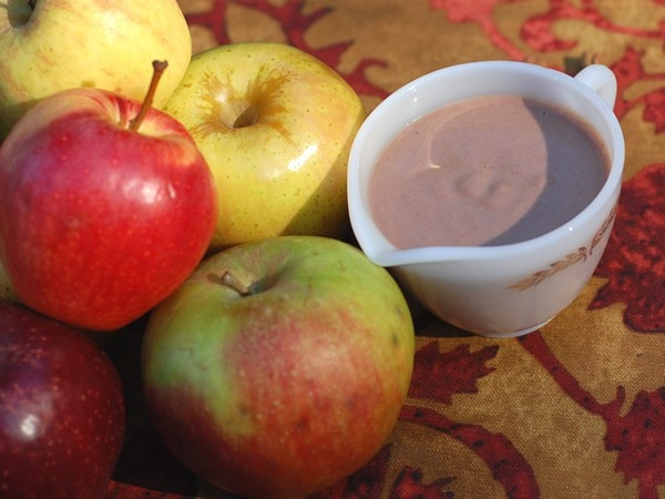 Slow Cooker Apple Spice Vegan Creamer