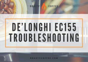 Delonghi EC155 Troubleshooting
