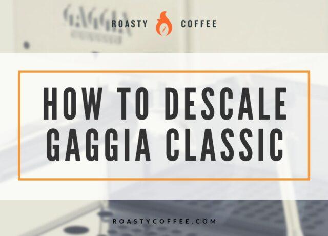 Descale Gaggia Classic
