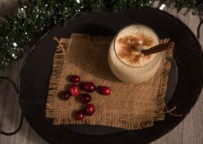 Eggnog As Coffee Creamer