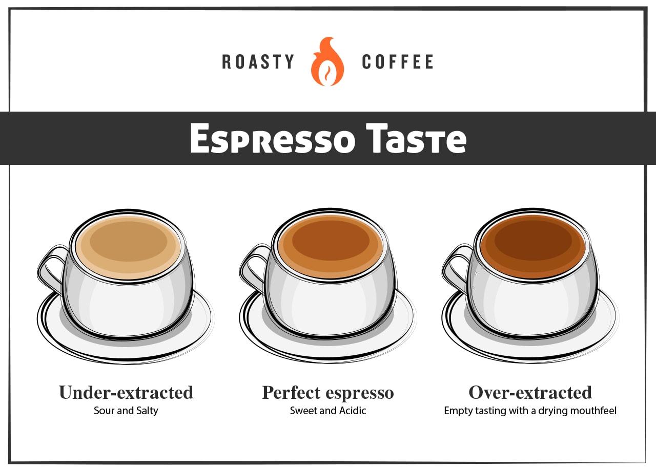 Espresso Taste Infographic