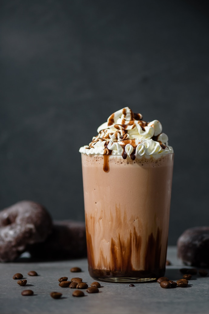 Blended Double Chocolate Iced Coffee