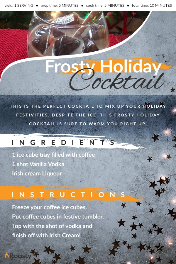 Holiday Coffee Cocktail Recipe