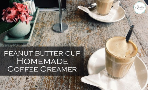 Indulging Peanut Butter Cup Coffee Creamer