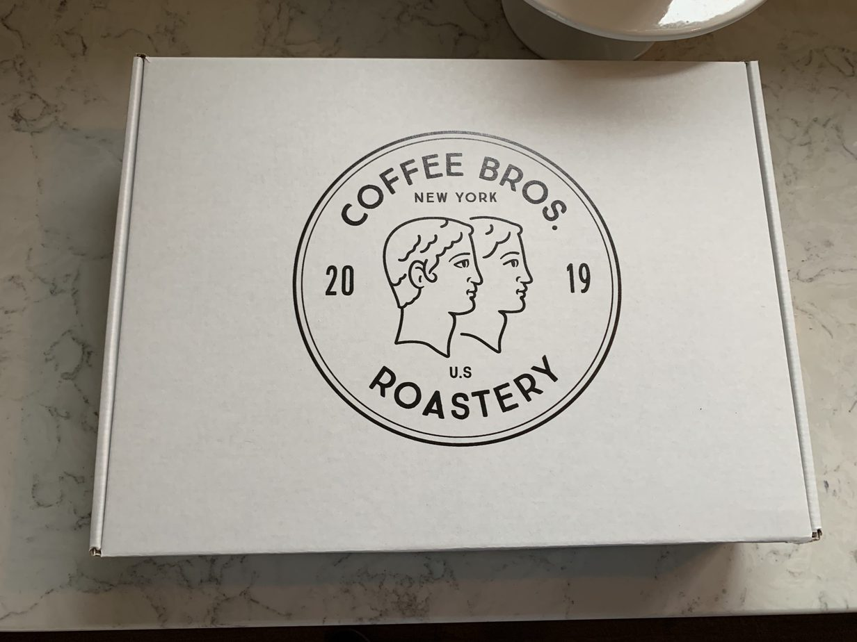 Coffee Bros Packaging