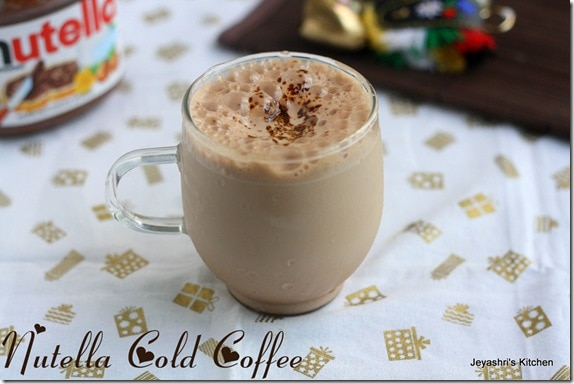 Chilled Nutella Coffee