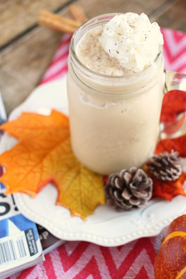Frozen Pumpkin Spice Coffee