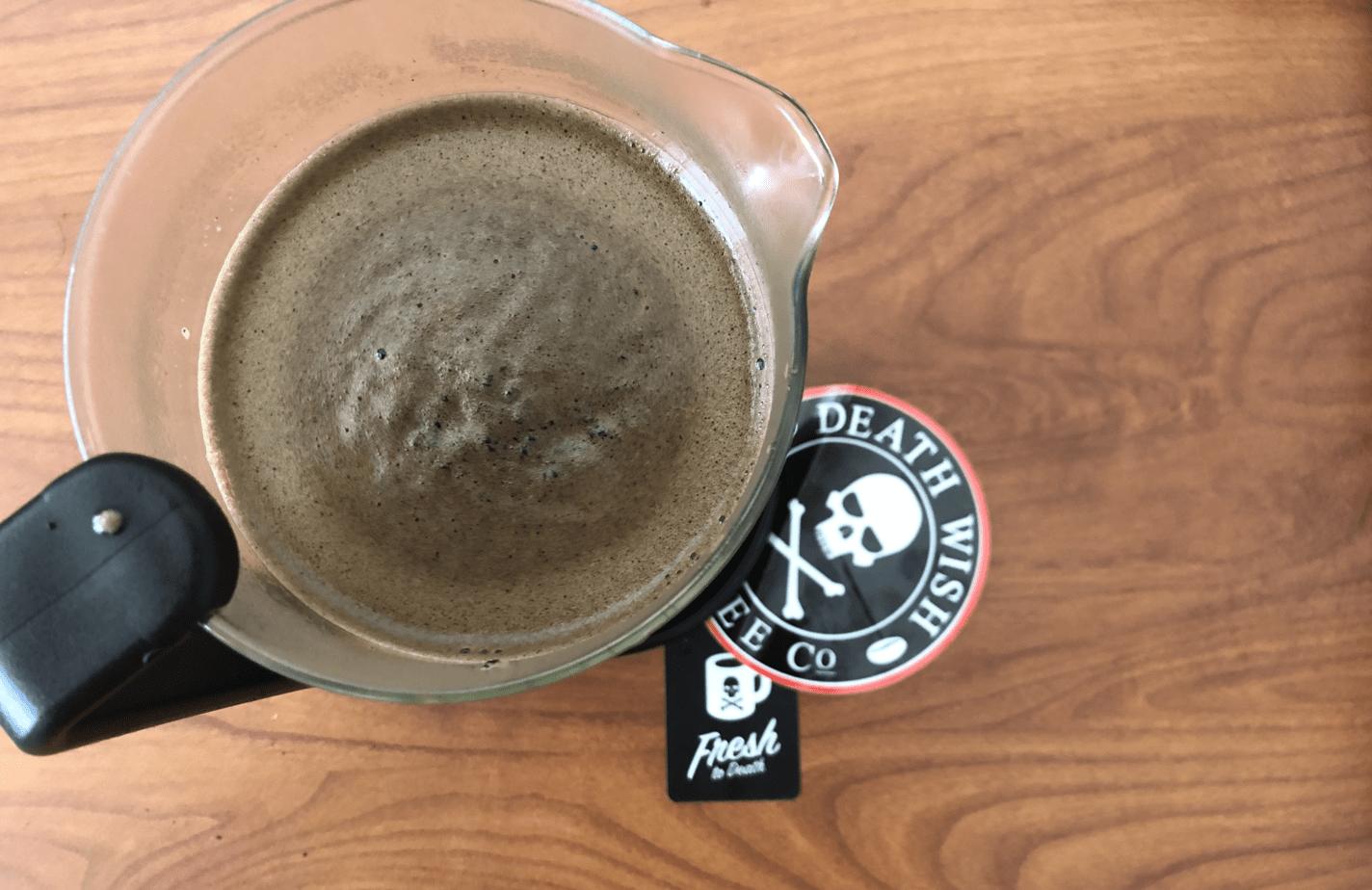 death wish coffee French press