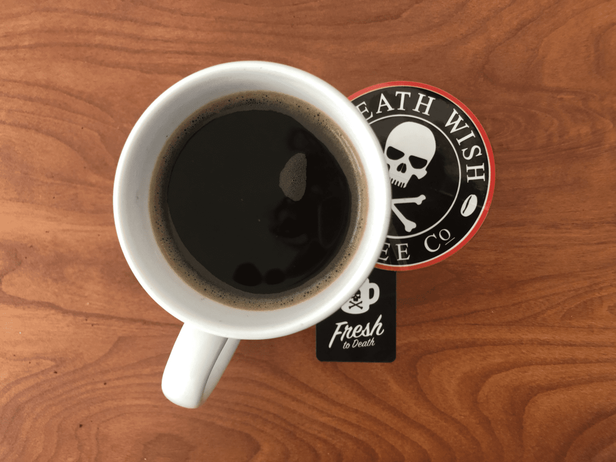Death Coffee Wish Coffee ReviewWorld's Strongest kZOiPXu