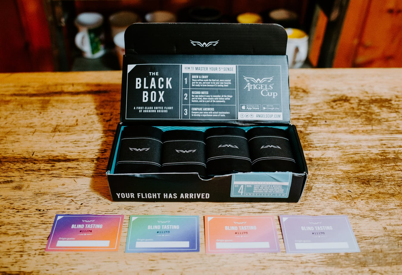 Black Box Tasting Cards
