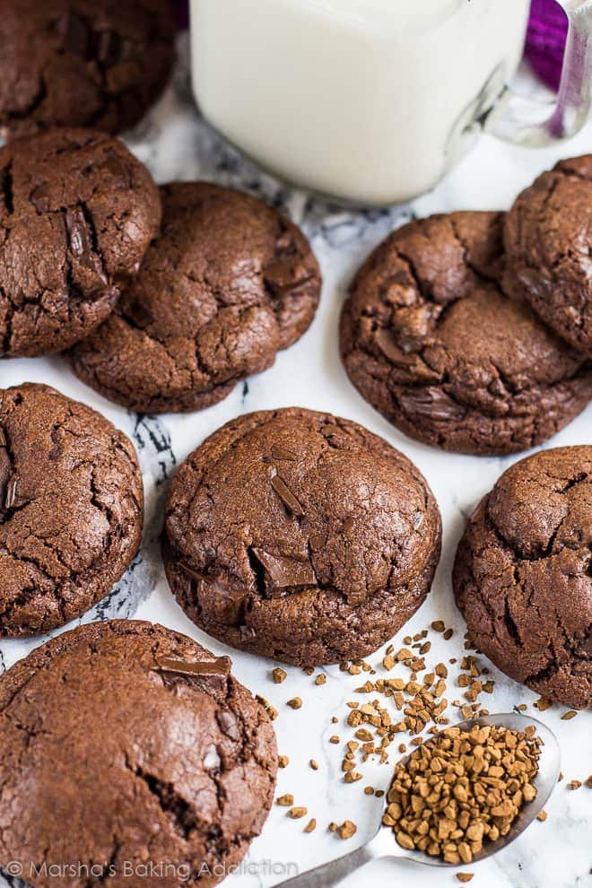 Soft Chocolate Chip Mocha Cookies