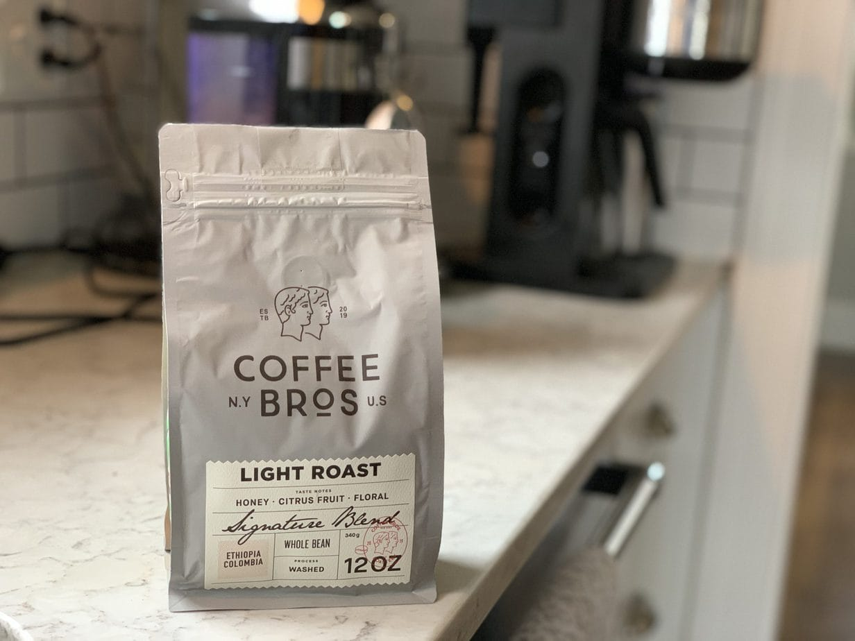 Coffee Bros Light Roast Bag
