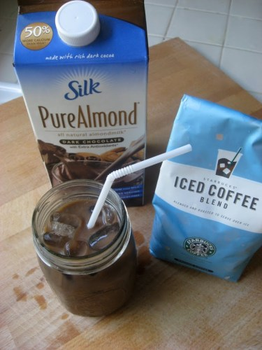 Chocolate Almond Iced Coffee