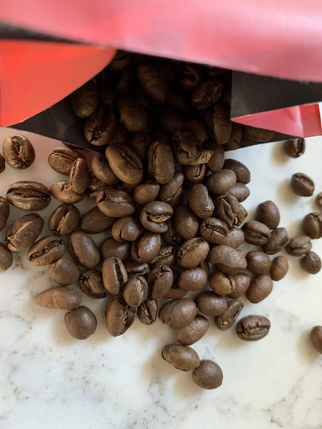 Kona Coffee Beans Close Up