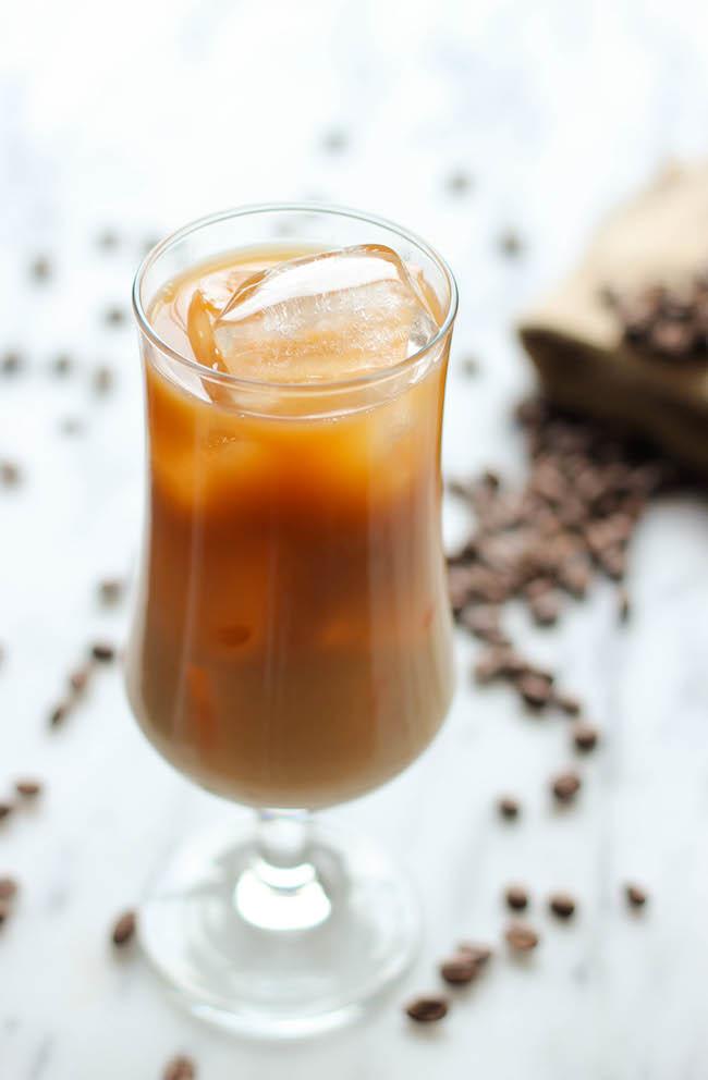 Iced Kahlua Coffee