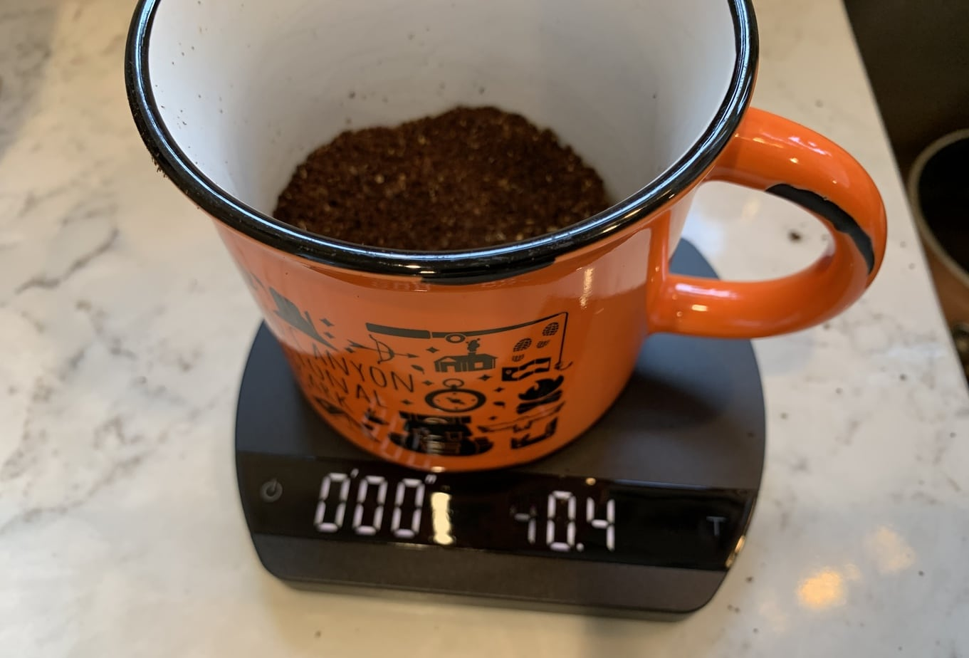 Coffee Scale Measurement
