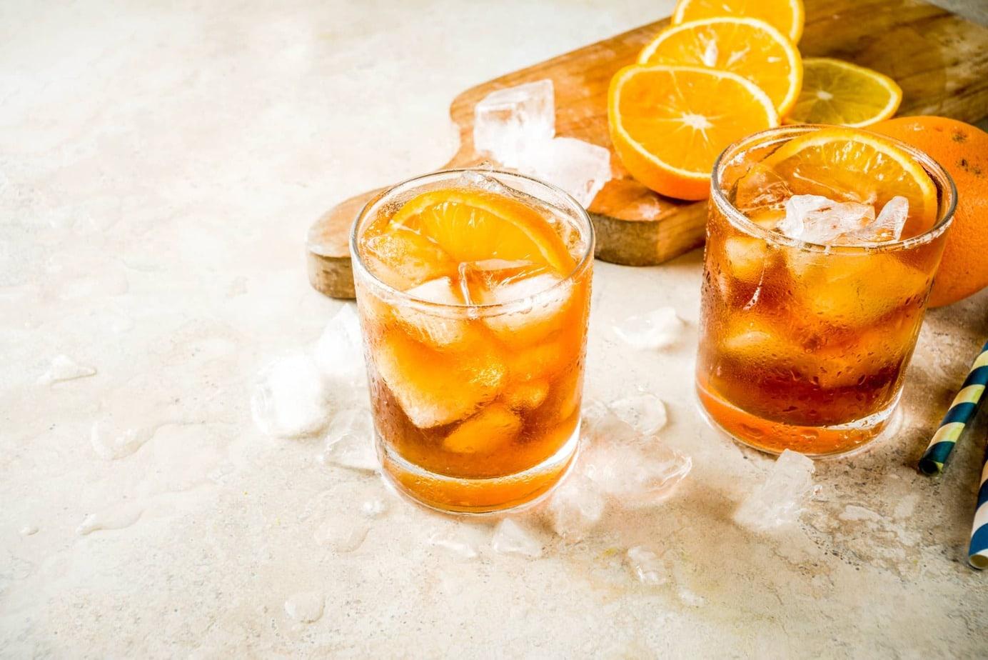 Iced Coffee Orange