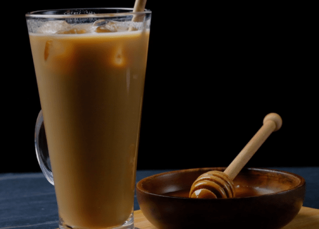 Iced Honey Vanilla Latte Recipe