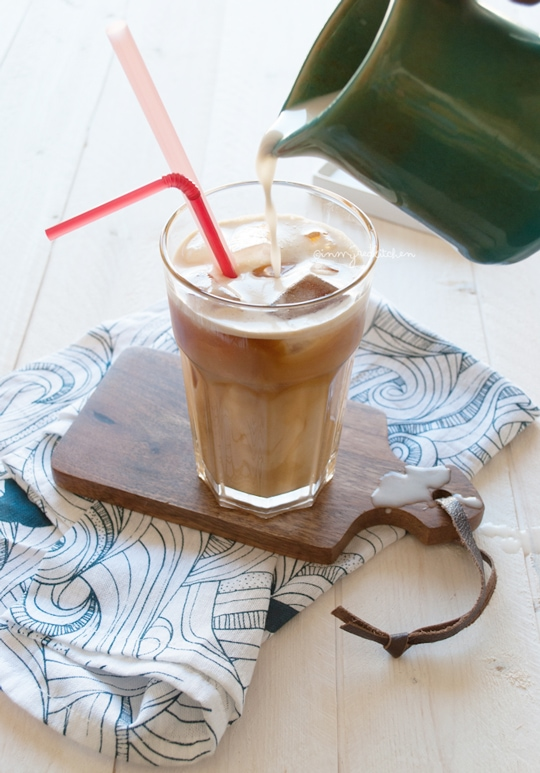 Coconut Almond Milk Iced Coffee