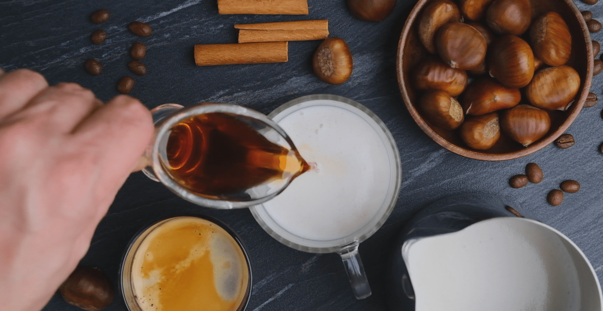 Milk And Chestnut Syrup