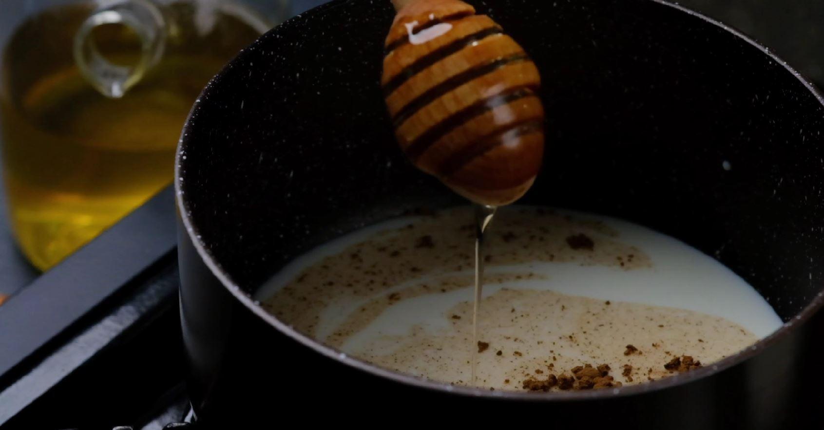 Milk In Saucepan