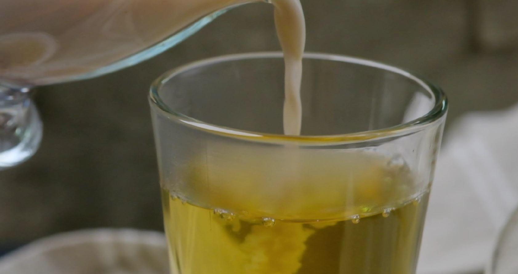 Milk in Tea