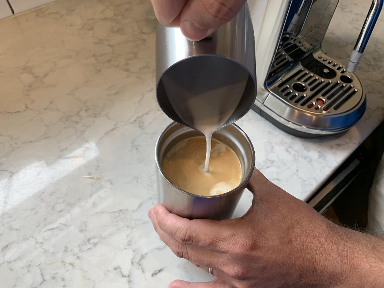 Creatista plus latte art