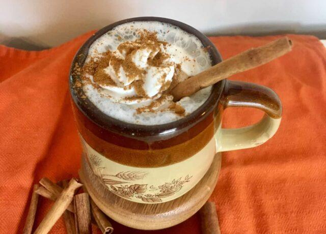 Cinnamon Maple Latte